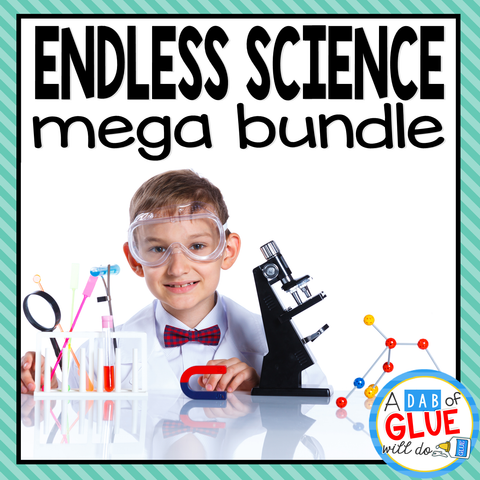 This endless science mega bundle provides all you need for your early learners.