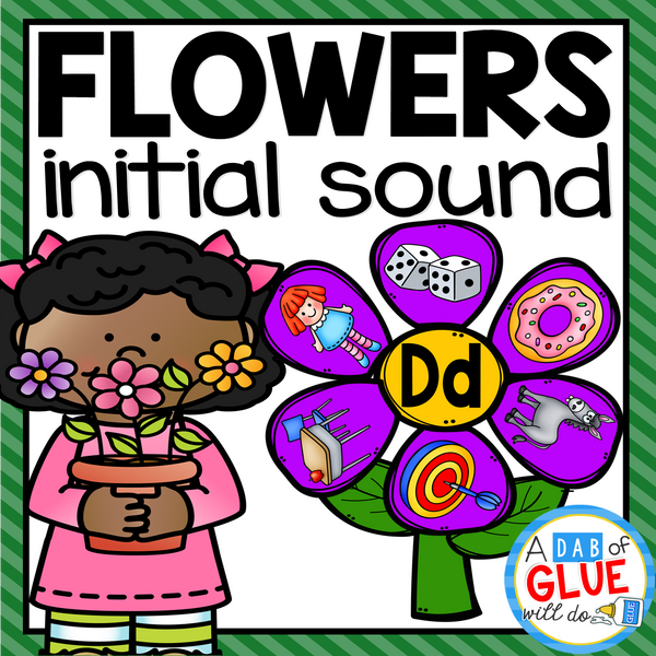 Flowers Initial Sound Match-Up