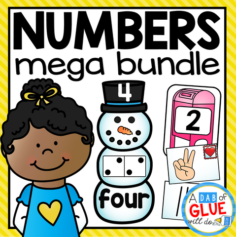 Number Match-Ups Mega Bundle