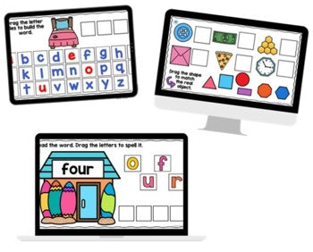 LITERACY SeeSaw Activities FIRST GRADE Digital {Growing} Bundle