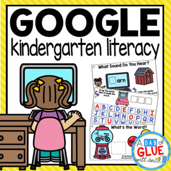 Know It, Show It LITERACY Google Slide KINDERGARTEN Digital Bundle