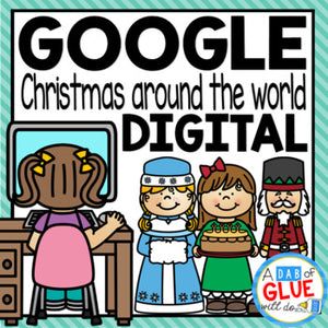 Digital Christmas Around the World for Google Slides for Distance Learning