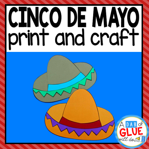 Cinco de Mayo Paper Craft Activity and Creative Writing