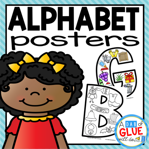 Alphabet Uppercase Posters