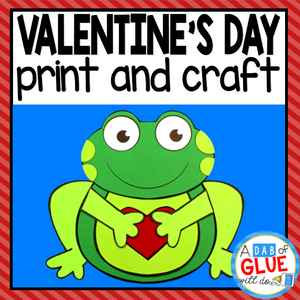 Valentine's Day Paper Craft Activity and Creative Writing