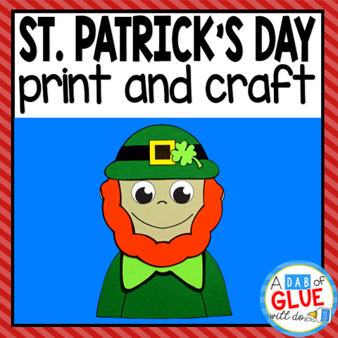 St. Patrick's Day Craft Activity and Creative Writing