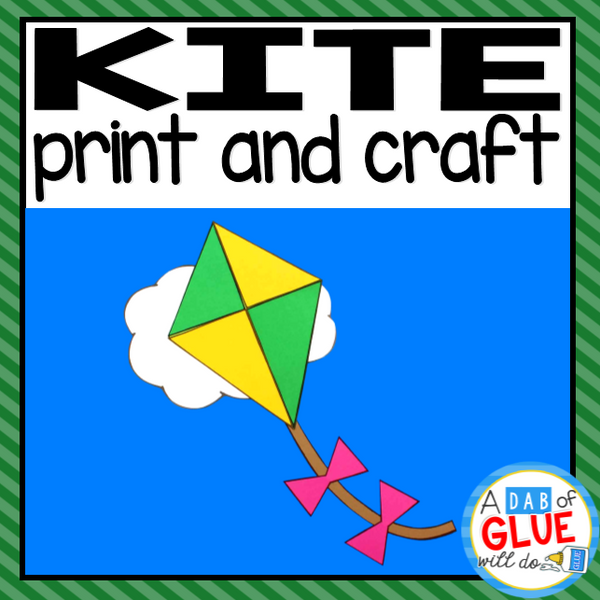 Kite Paper Craft Activity and Creative Writing