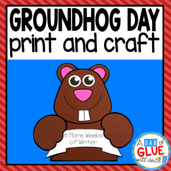 Groundhog Day Craft Activity and Creative Writing