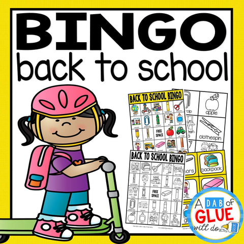 BINGO: Back to School