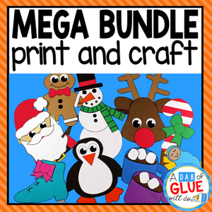 Endless Paper Craft Activity and Creative Writing Mega Bundle {Growing}