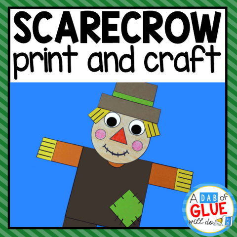 Scarecrow Paper Craft Activity and Creative Writing