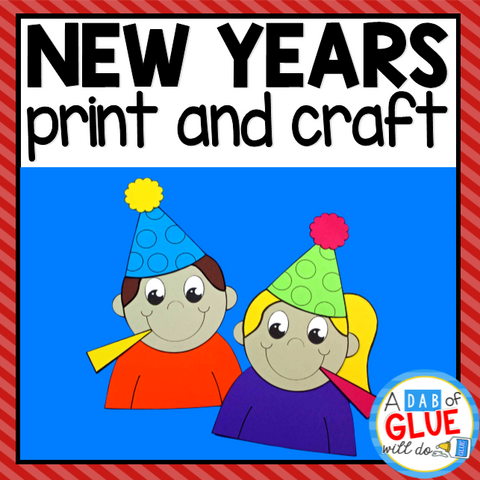 New Years Activity: Craft and Creative Writing