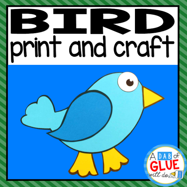 Bird Paper Craft Activity and Creative Writing