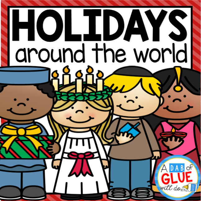 Winter Holidays Around the World (Crafts, PowerPoints, Worksheets, etc.)