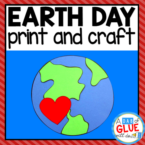 Earth Day Paper Craft Activity and Creative Writing