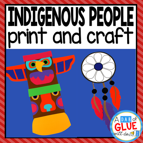 Indigenous People Day Paper Craft Activity and Creative Writing