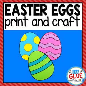 Easter Paper Craft Activity and Creative Writing