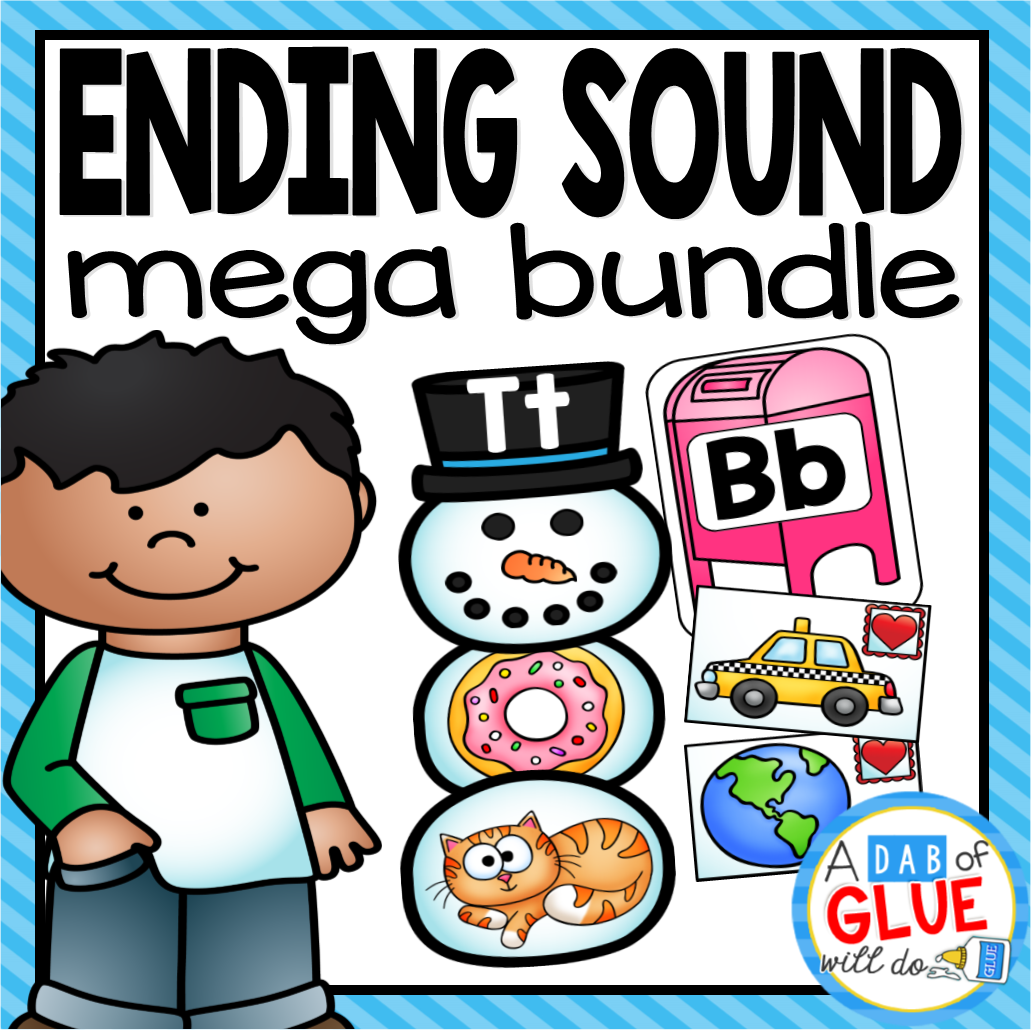Ending Sound Match-Ups Mega Bundle