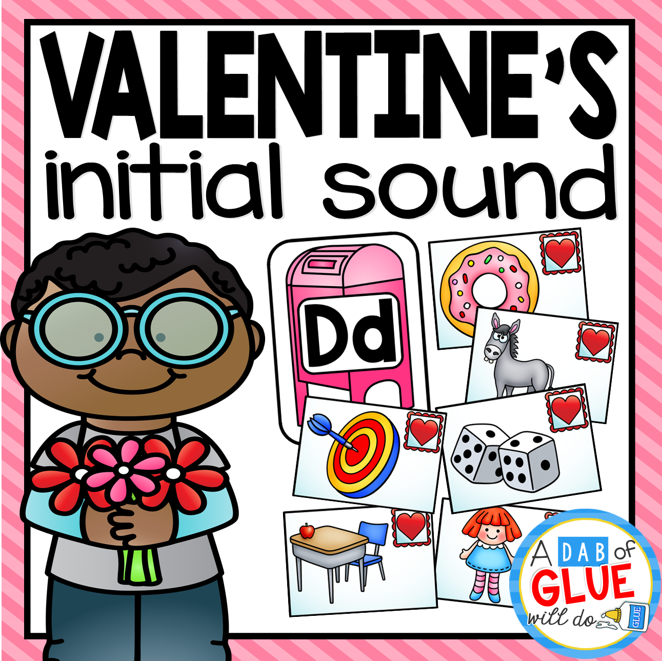 Valentine's Day Initial Sound Match-Up