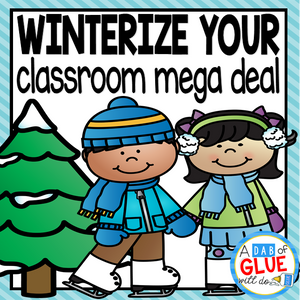 Winterize Your Classroom {GROWING} Mega Bundle