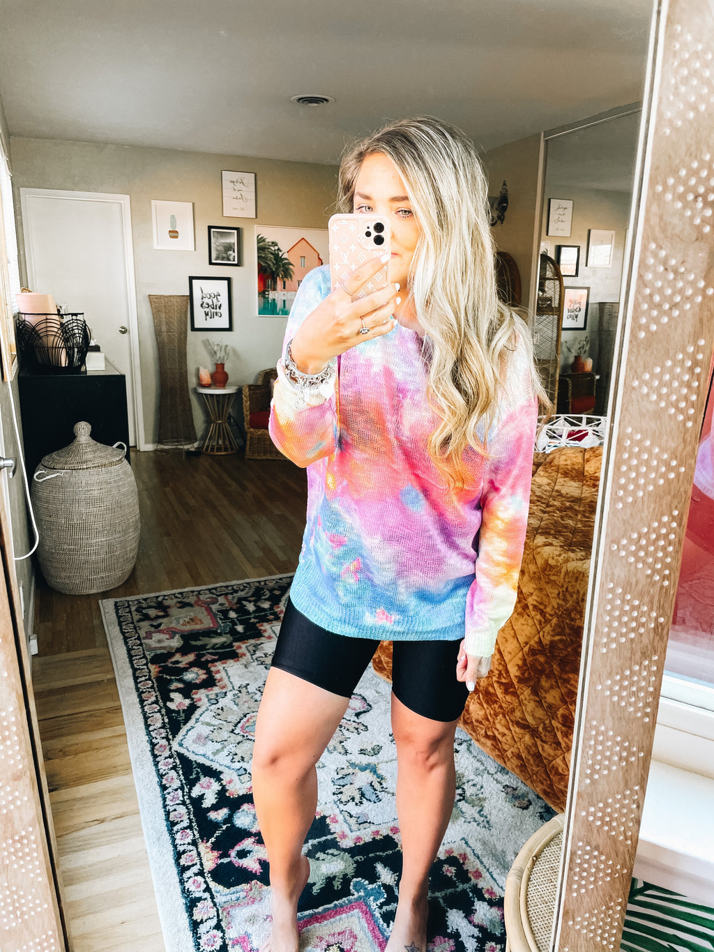 Splash Tie Dye Sweater