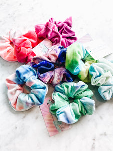 Tye Dye Hair Scrunchie