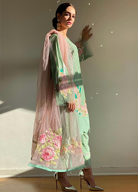 Aashiqa - Mint Green