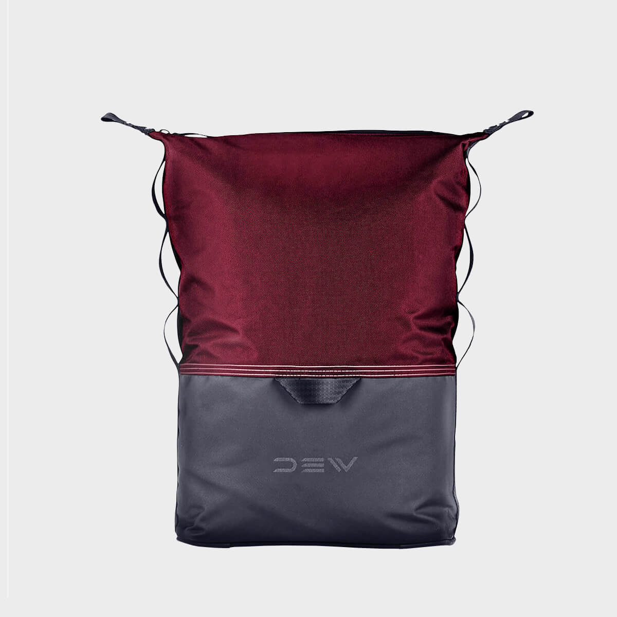 Front purple minimalistic backpack 15 liter