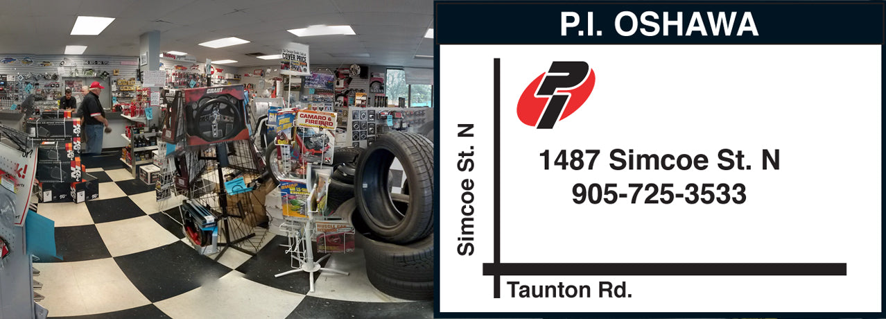 Performance Improvements Oshawa 1487 Simcoe Street North, Oshawa, Ontario, L1G 4X8 - Proudly Canadian since 1964, Lowest Prices, Prices in CAD, No Duties or Fees, 365 Day Return.