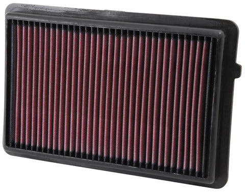 K&N 33-2489 Air Filter Canada Performance Improvements