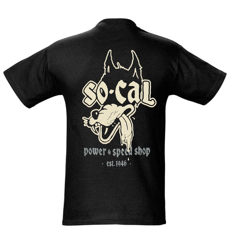 So-Cal Speed Shop Wolf T-Shirt Canada Performance Improvements Prices in Canadian, No Duties, 365 Day Return