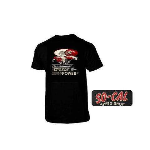 So-Cal Traditional Speed & Power T-Shirt Canada Performance Improvements Prices in Canadian, No Duties, 365 Day Return