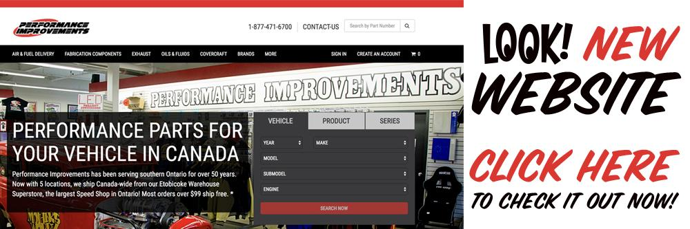Performance Improvements has 6 Speed Shop Locations in Southern Ontario and Quebec