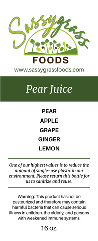 Image of Pear Juice