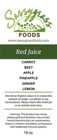 Image of Red Juice