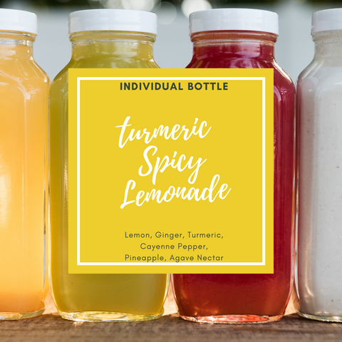 Turmeric Spicy Lemonade