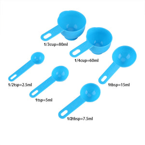 7 Pcs/Set Kitchen Measuring Tools