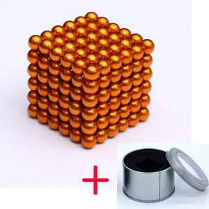 Magnetic balls with Metal Box 5mm 216pcs/set