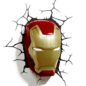 New Marvel avengers Captain America Iron Man LED