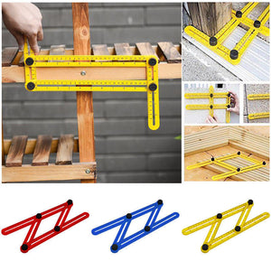 Measuring Instrument Template Tool Four-Sided Ruler