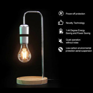 Magnetic Levitating Floating Table Lamp LED Bulb