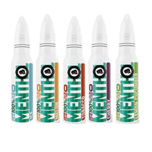Load image into Gallery viewer, Riot Squad 100% Menthol Range 0mg 50ml E-Liquid (70VG/30PG)