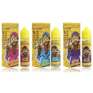 CUSH MAN Series by Nasty Juice 0MG 50ML Shortfill 70VG/30PG