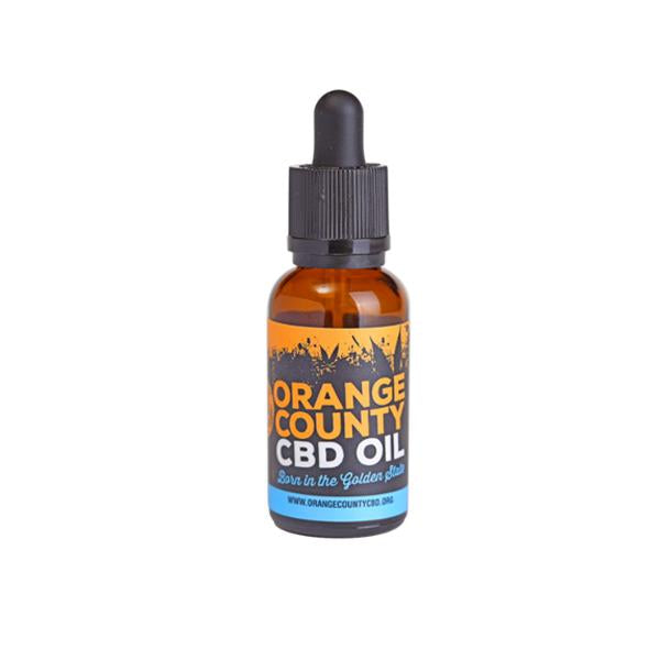 Orange County CBD 1500mg 30ml MCT Oil - Organic Coconut Oil