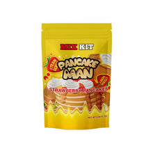 Load image into Gallery viewer, Pancake Man Strawberry Pancakes DIY Mix Kit 180ml