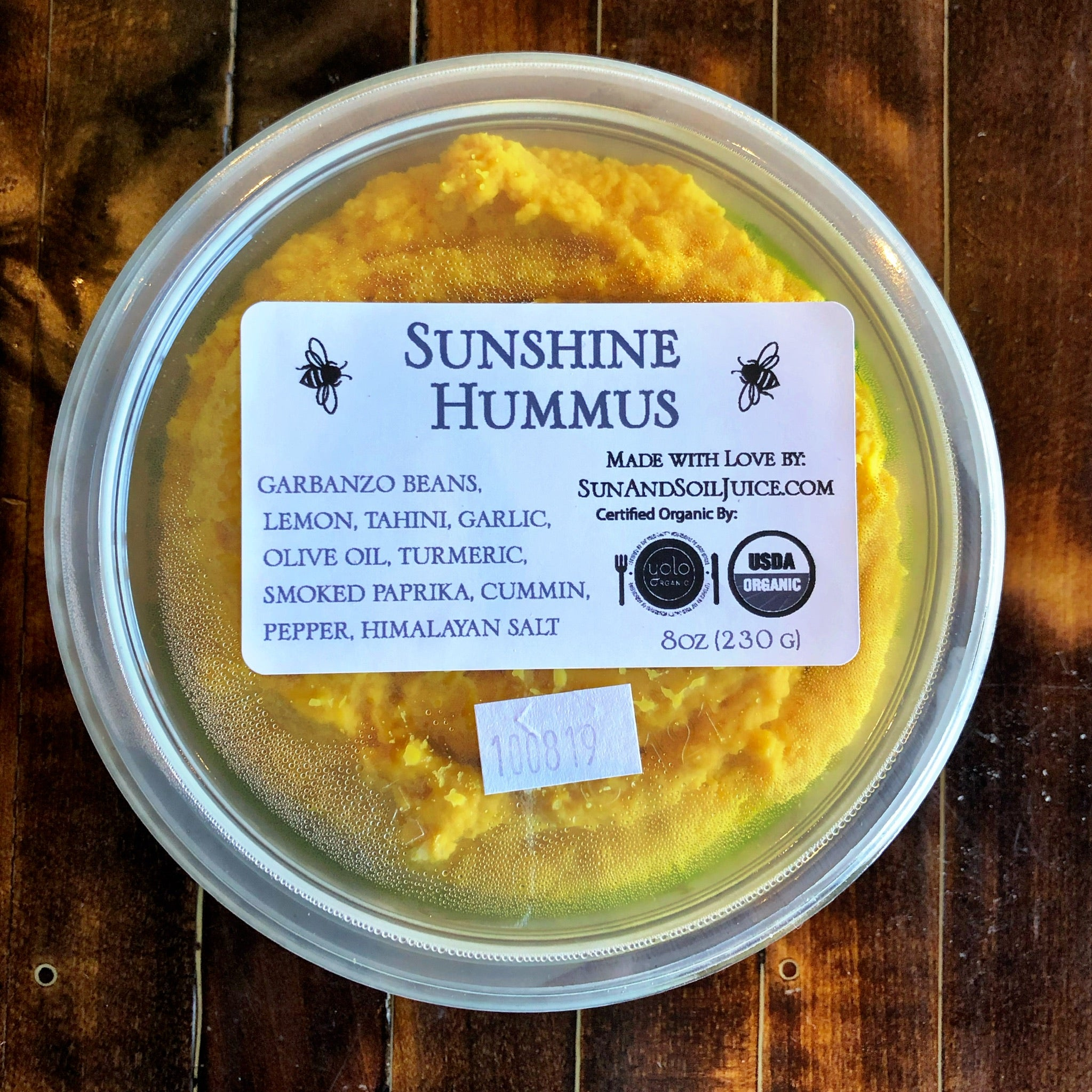 Sunshine Hummus 12 oz