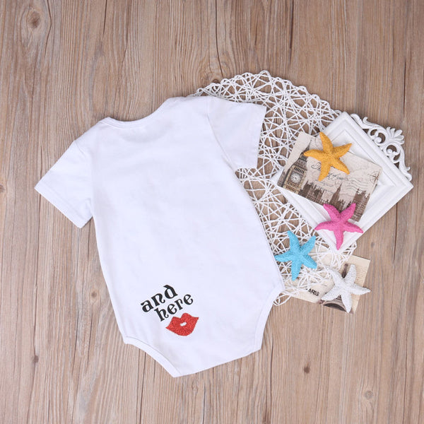 Newborn Infant Baby Boys / Girls Tops Mommy Was Here Outfit