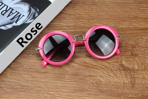 Vintage Round Toddler Sunglasses