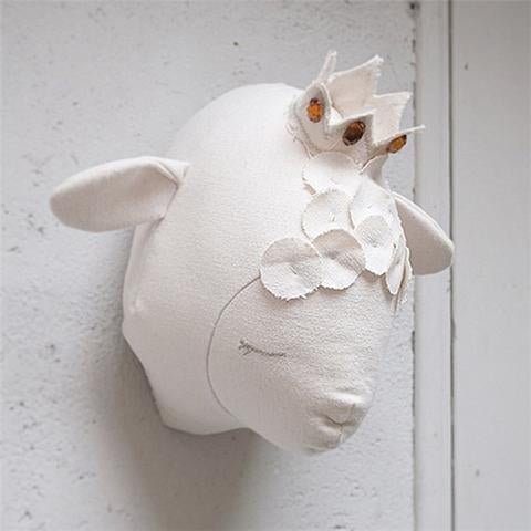 Mounted Sheep Wall Decor