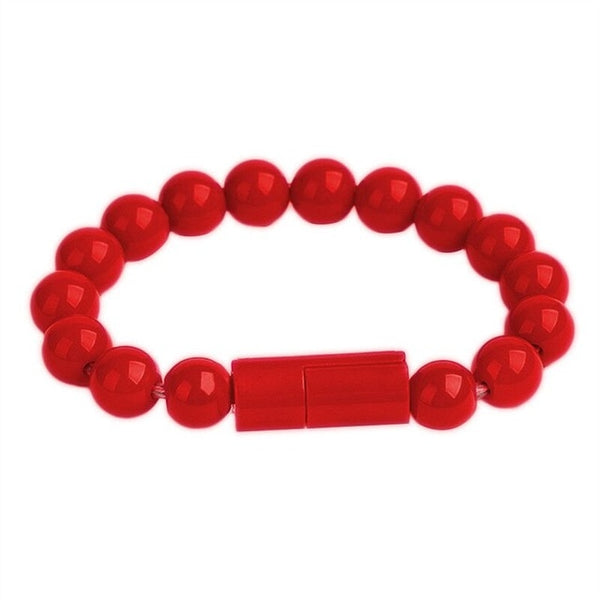 NEW PRICE! Useful & Stylish Beaded Charger Bracelet